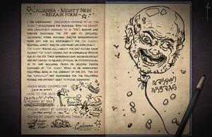 Jester's Sketchbook - spread 25 by JoannaJohnen