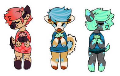 (1/3 OPEN) OTA Succulent Dog Adopts by radioactive-sniper