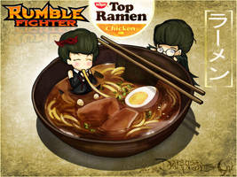 Rumble Fighter Ramen Time by Darkness1999th