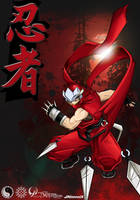 Rumble Fighter :[CA]Ninja -Red Shinobi by Darkness1999th