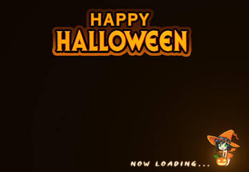 Happy Halloween 2o12 -Loading Screen by Darkness1999th