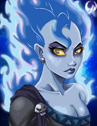 Hercules female Hades by Darkness1999th
