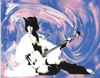 Cotton Candy Geisha by Jankycc