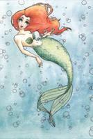 Nautical Redhead by AucoinArt