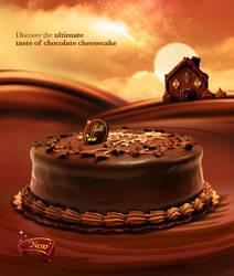 Sable chocolate Cheesecake by jamjamcg