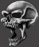 S.A. - Skull by theR3AP3R