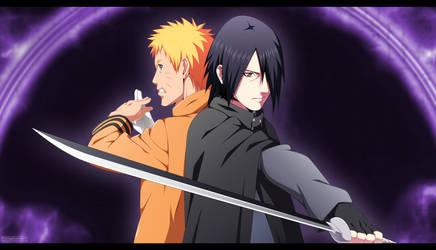 Naruto and Sasuke - Boruto The Movie by TofiqHuseynov