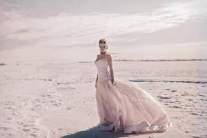 Pink snow by Donna-Lynn