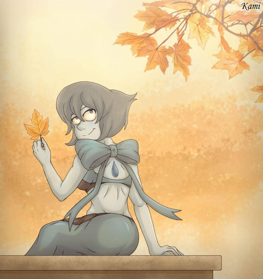 Just Lapis enjoying her favorite season.