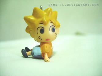 Naruto Sitting by samshil