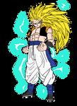 Super Saiyan 3 Gogeta by toni987