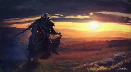 Skull Knight by Nefillim