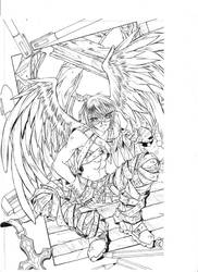 War Seraphim by whitehyde