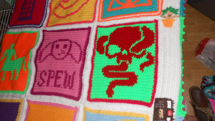 HP Pop Art Blanket middle right by Maintje