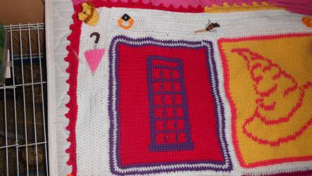 hp pop art blanket top left by Maintje