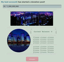 City at night pointbox/donation pool code by My-test-accountt