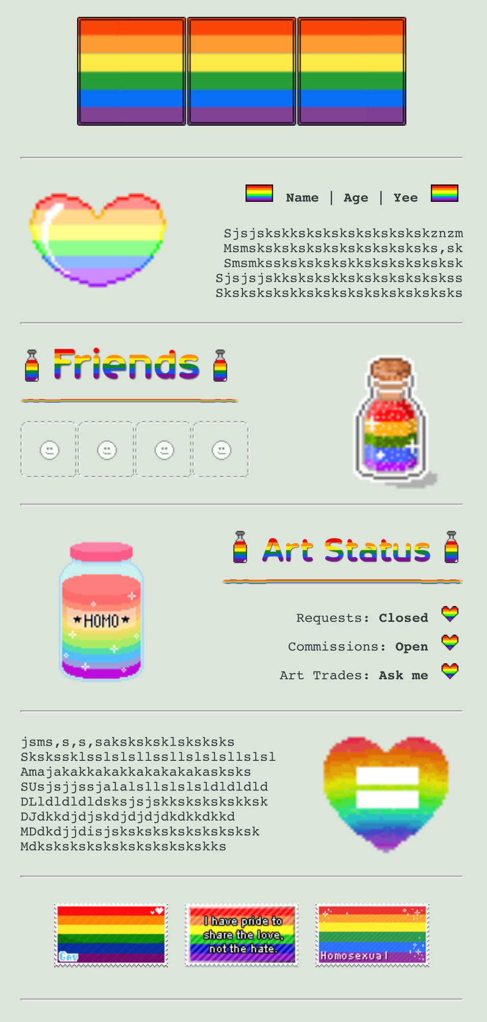 Pride Month Custombox by My-test-accountt