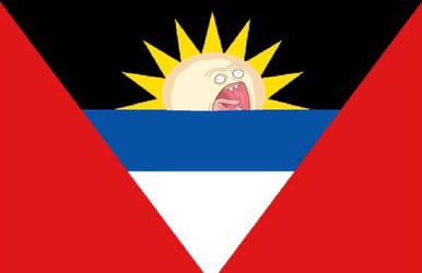 Flag of Antigua by My-test-accountt