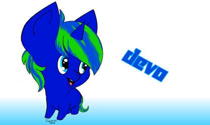 Devo Request Chibi by furywind
