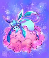 Pink fluffy cloud by Flufflix