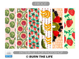 Froot   Patterns by Burn-the-life