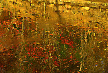 Autumn Impressionism by SharonLeggDigitalArt