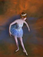 Portrait of a Ballerina by SharonLeggDigitalArt