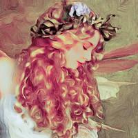 The Enchanted Wood Fairy by SharonLeggDigitalArt