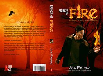 Bringer of Fire_Book Cover by SharonLeggDigitalArt