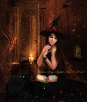 'Tis Near Halloween by SharonLeggDigitalArt