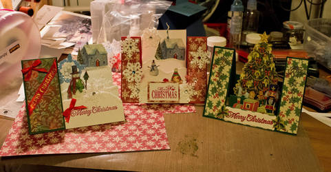 2013 Christmas Cards Part 2 by MistressVampy