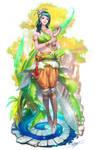Wood fairy by NeoArtCorE