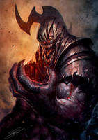 Dark Gladiator by NeoArtCorE