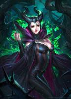 Maleficent Final by NeoArtCorE