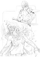 Daily sketch by NeoArtCorE