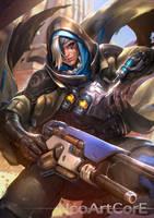 Ana Overwatch Fanart by NeoArtCorE