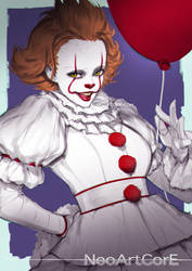 Pennywise by NeoArtCorE