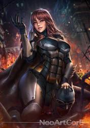Batman_Tactical Suit by NeoArtCorE