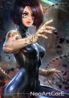 Alita Battle Angel by NeoArtCorE
