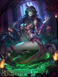 Scheming Goddess Rogue by NeoArtCorE