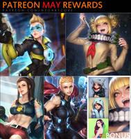 Patreon May Rewards by NeoArtCorE