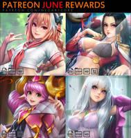 Patreon June Rewards by NeoArtCorE