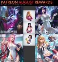Patreon August Rewards by NeoArtCorE