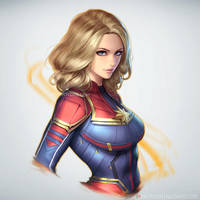 Captain Marvel by NeoArtCorE