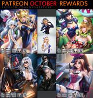 Patreon October Rewards by NeoArtCorE