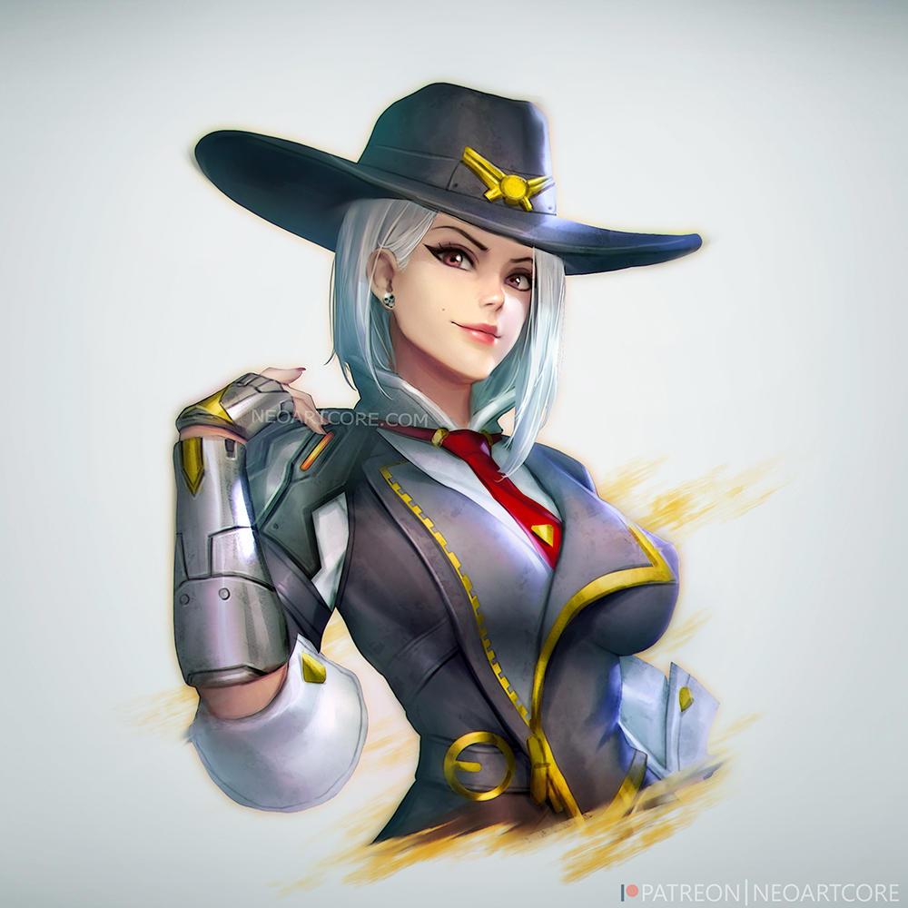 Ashe : Overwatch by NeoArtCorE Ashe : Overwatch by NeoArtCorE