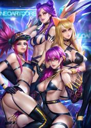 KDA lingerie by NeoArtCorE