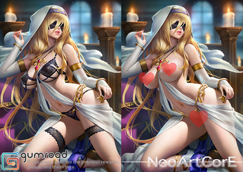 Sword Maiden_nsfw by NeoArtCorE