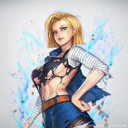 Android18 by NeoArtCorE