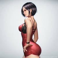 Ada Wong by NeoArtCorE